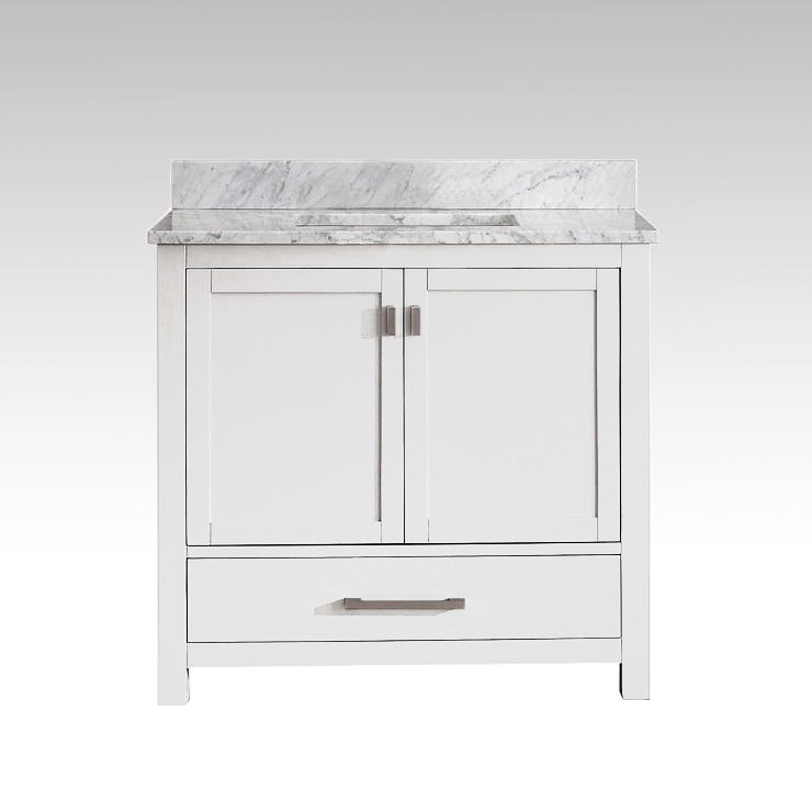 9805 VS36M WTwht carrara marble Image